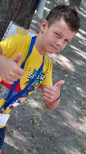 """Nectarie Spânu, 7 ani, Şcoala gimnazială """"Mihai Eminescu"""", Brăila"""