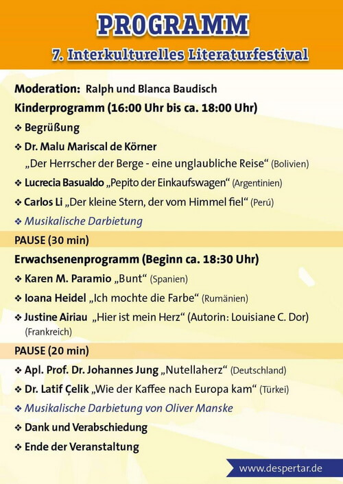 program festival germania