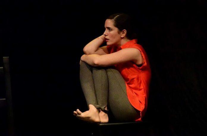 """Imagine din spectacolul """"Cădere liberă"""", Teatrul Malenki din Tel Aviv. Sursa: Festivalul Teatrului Malenki"""