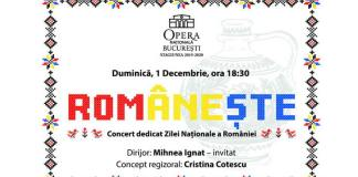 Romaneste concert onb