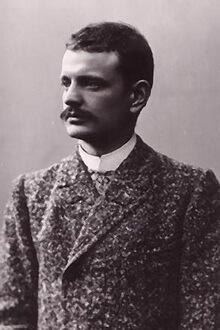 Sibelius, Viena, 1890 – 1891. Fotografie de Daniel Nyblin