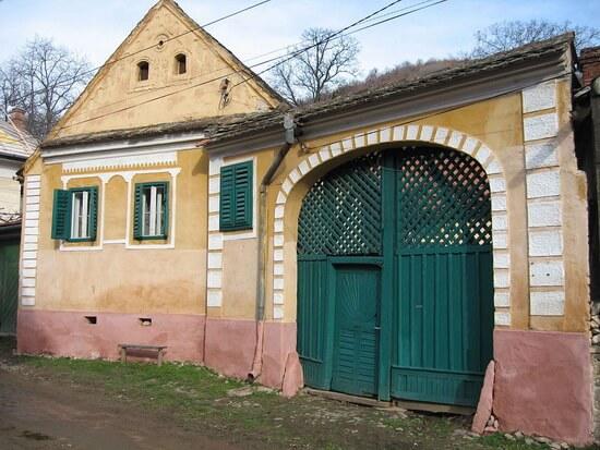 Caăa tradițională în Galeș, jud. Sibiu