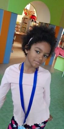 """Nira Guedenon, 7 ani, Liceul Pedagocic """"D. P. Perpessicius"""" Brăila"""