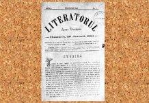 Prima_Pagina-Literatorul 1880. jpg