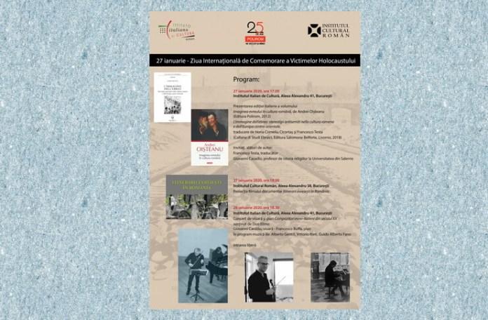 icr ziua internationala de comemorare a holocaustului