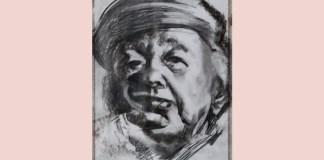 Eugen Ionescu, portret de Adina Romanescu, 2010