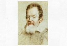 Galileo Galilei, portret în creion de Leoni, 1624