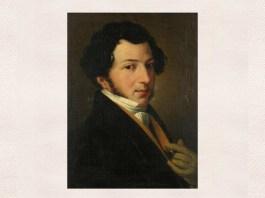 Gioachino Rossini, portret de autor necunoscut, cca 1815