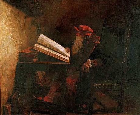 "Jean Paul Laurens (1838 – 1921), ""Dr. Faust"""