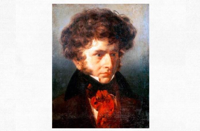 """Émile Signol, """"Hector Berlioz"""", 1832"""