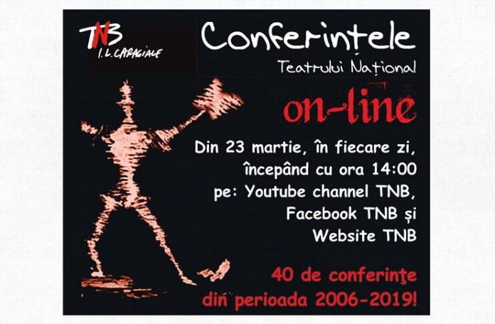 Conferintele TNB online