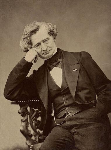 Hector Berlioz, fotografie de Pierre Petit, 1863