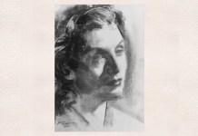 Maria Tănase, portret de Adina Romanescu, 15 martie 2020. Copyright © Adina Romanescu