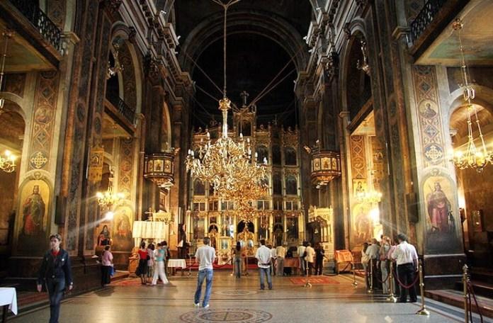 Catedrala Mitropolitană Iași, interior