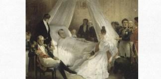 "Carl von Steuben, ""Moartea lui Napoleon"", cca 1828"