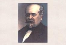 Mihail Kogălniceanu, portret de Mișu Popp