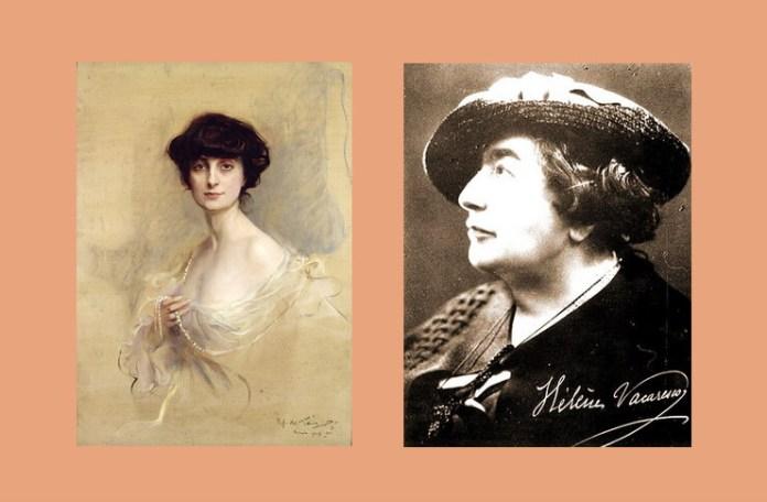 Anna de Noailles și Elena Văcărescu