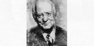 Henri Coandă, portret de Adina Romanescu, 6 iunie 2020. Inedit