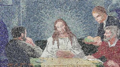 Mozaic din Mănăstirea Jitianu
