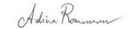 semnatura adina romanescu