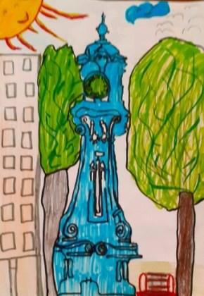 Desen de Giada Turea