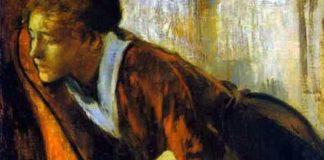 "Edgar Degas, ""Melancolie"", cca. 1874"
