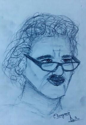 Lică Barbu, portret de Cristina Dragomir