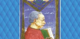 Poggio Bracciolini, din manuscrisul De Varietate Fortunae, Vatican, secolul al XV-lea