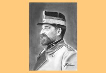 Regele Ferdinand I, portret de Bogdan Calciu