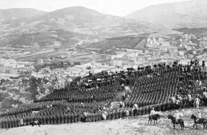 Trupe austro-ungare trimise la Sarajevo în 1914