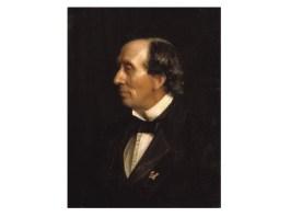 Carl Bloch, Portretul lui H. C. Andersen, 1869, colecție privată