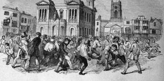 2 Foot_Ball,_Kingston-upon-Thames,_Shrove_Tuesday,_Feb._24th,_1846