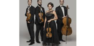 Cvartetul Auner. Credit foto: Nadia Alexandrowa. Sursa: Forumul Cultural Austriac din București