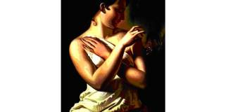 """Gheorghe Panaiteanu-Bardasare (1816–1900), """"Fata cu fluturele (Venus în baie"""")"""