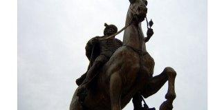 Statuia lui Mihai Viteazul de la Târgoviște
