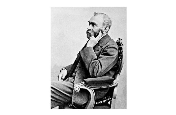 Alfred Nobel (1833–1896), portret de Gösta Florman (1831–1900)