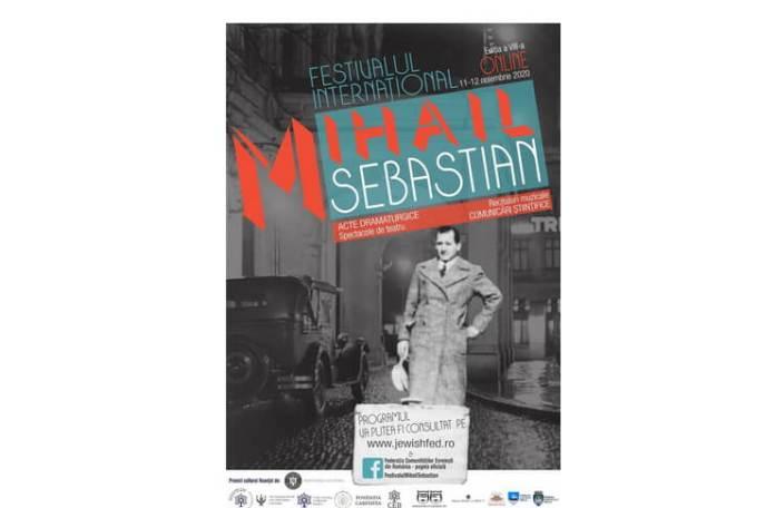 Festivalul International Mihail Sebastian (afiș)
