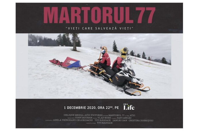 MARTORUL 77 AFIȘ