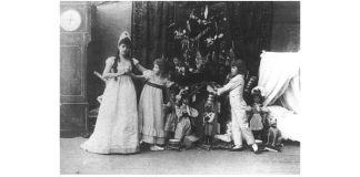 Imagine din spectacolul de la Teatrul Mariinski, decembrie 1892