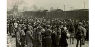 Selecție pe rampa de la Auschwitz-Birkenau, 1944
