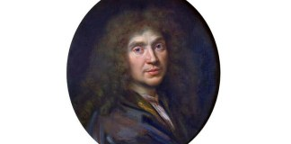 Molière, portret de Pierre Mignard (1612–1695), Muzeul Condé, Chantilly, Franța