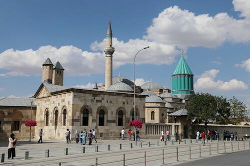 Muzeul Mevlâna din Konya, Turcia