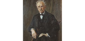 Richard Strauss, portret de Max Liebermann, 1918