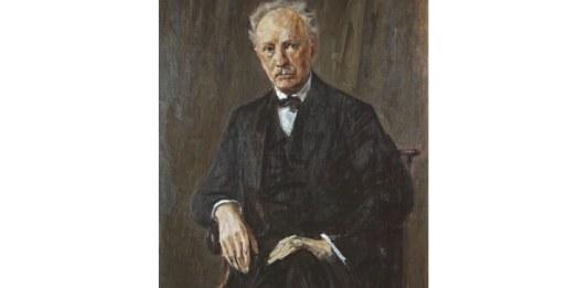 Richard Strauss, portret de Max Liebermann, 1918