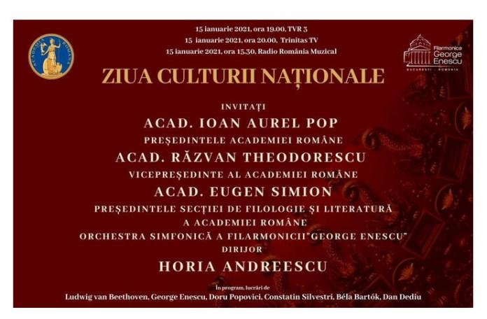 ziua culturii nationale la Academia Română