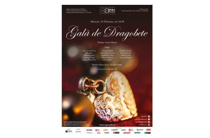 Afis Gala de Dragobete - 24.02