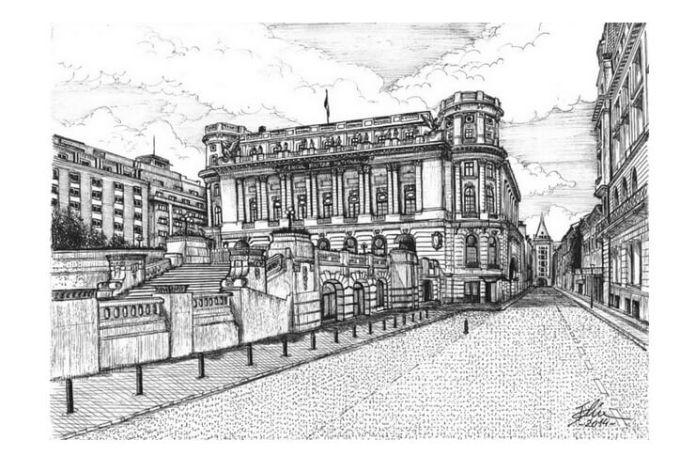 Desen de Bogdan Calciu, 2014