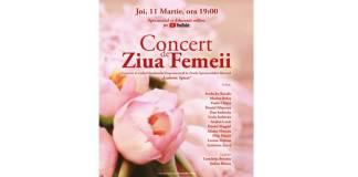 Afis Concert de Ziua Femeii on-line 11.03 - ONB