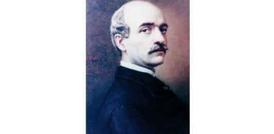 Constantin Daniel Stahi, Portretul lui Vasile Alecsandri