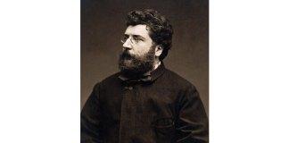 Georges Bizet, fotografie de Étienne Carjata, 1875
